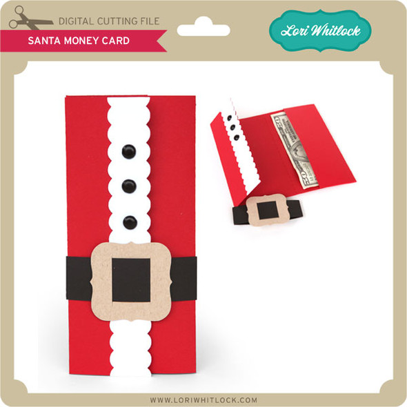 Santa Money Card