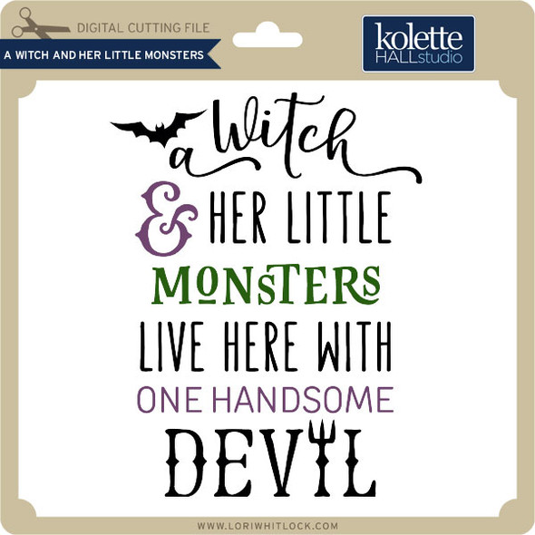 A Witch and Her Little Monsters