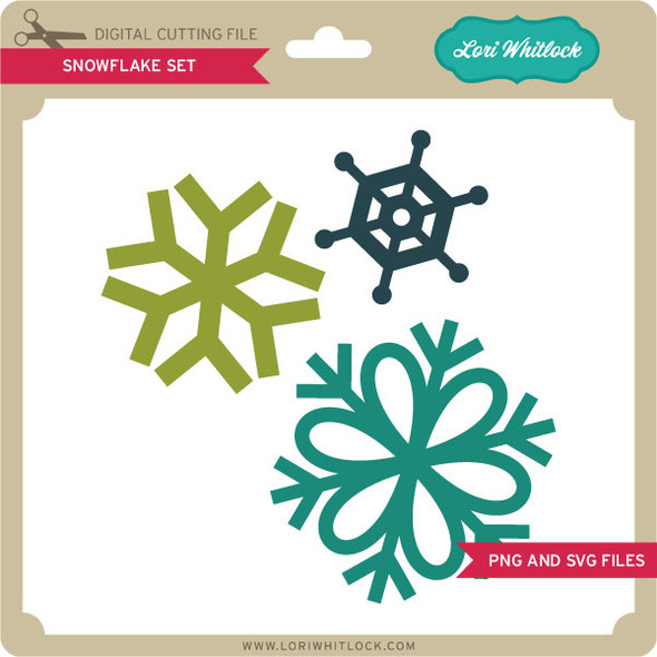 2 Snowflake Charms