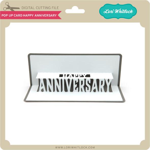 Pop Up Card Happy Anniversary