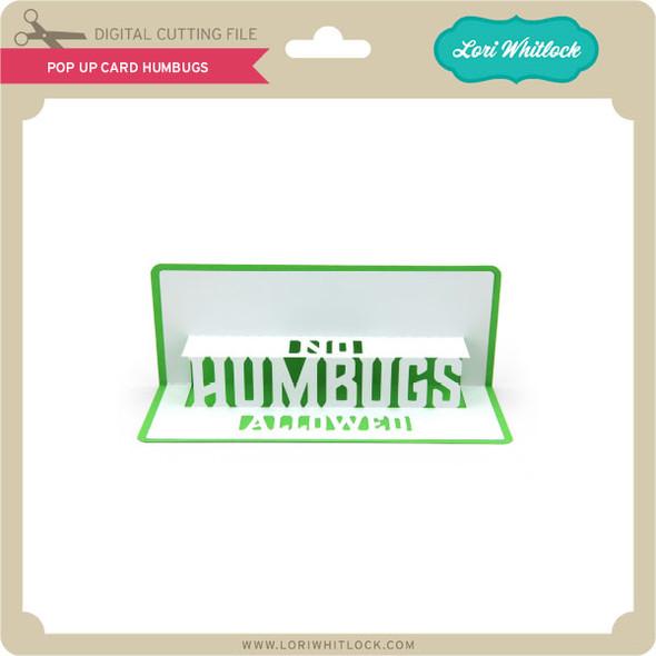 Pop Up Card Humbugs