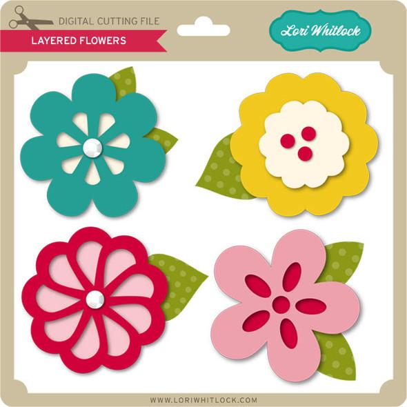 Layered Flowers