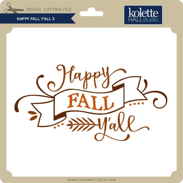 Happy Fall Y'All 3