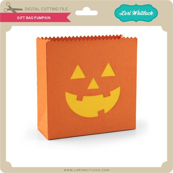 Gift Bag Pumpkin