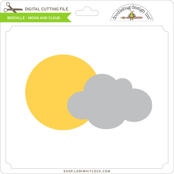 Booville - Moon and Cloud