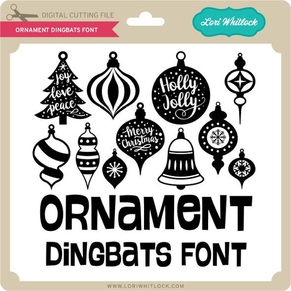 Ornament Dingbats Font