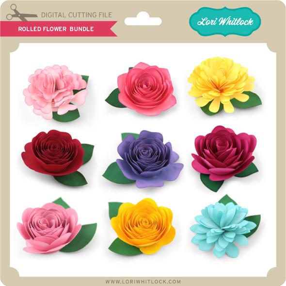 Rolled Flower Bundle