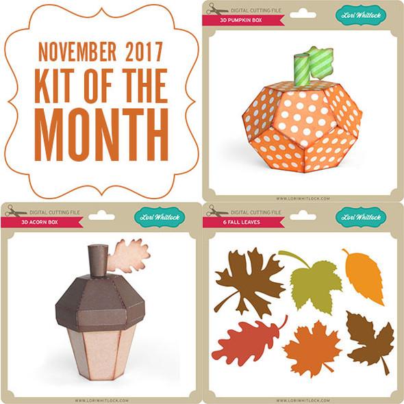 2017 November Kit of the Month