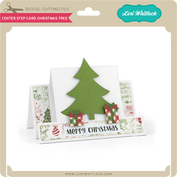 Center Step Card Christmas Tree