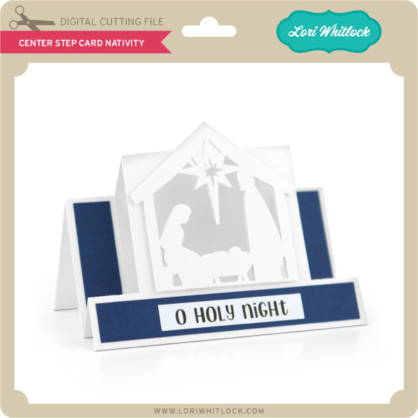 Center Step Card Nativity