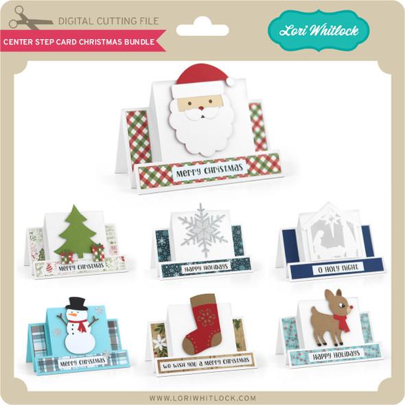 Center Step Card Christmas Bundle