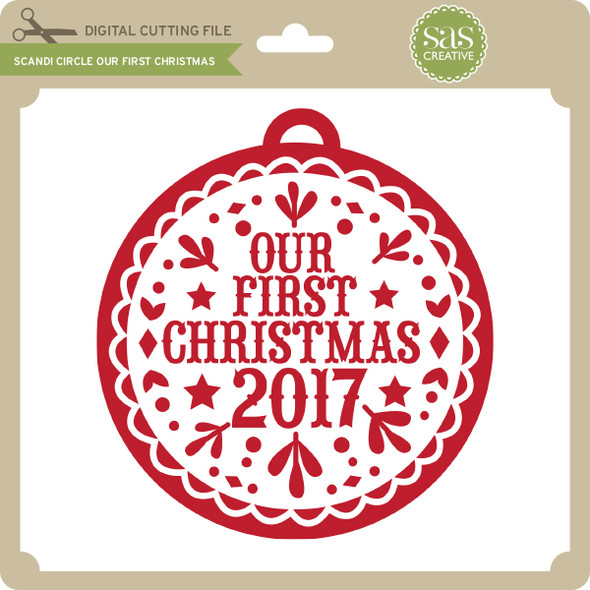 Scandi Circle Our First Christmas