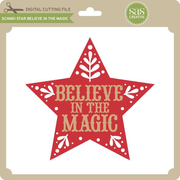 Scandi Star Believe in the Magic
