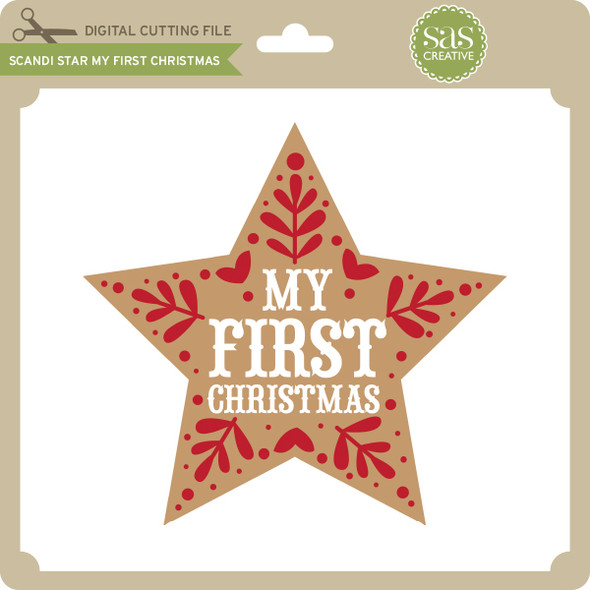 Scandi Star My First Christmas