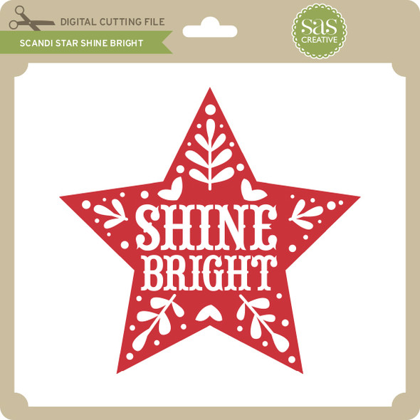 Scandi Star Shine Bright