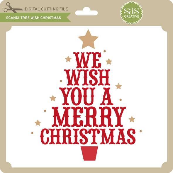 Scandi Tree Wish Christmas