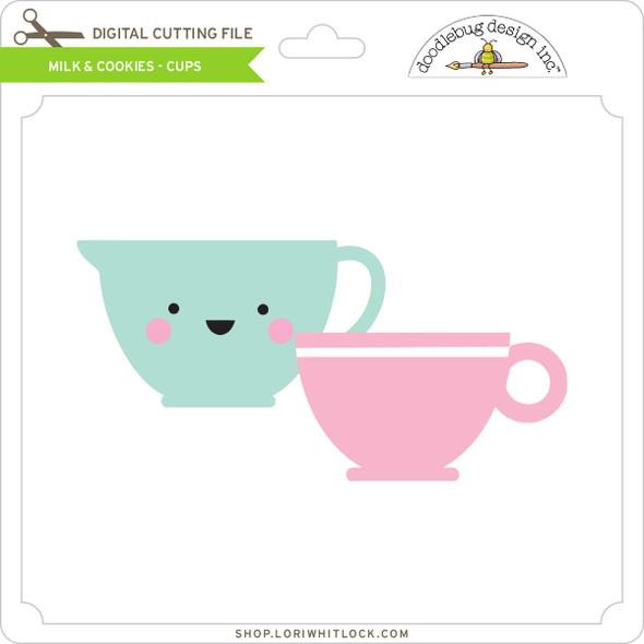 Milk & Cookies - Cups