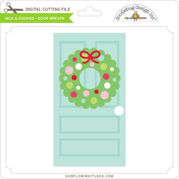 Milk & Cookies - Door Wreath