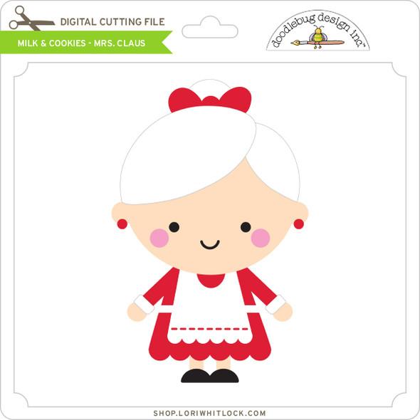 Milk & Cookies - Mrs Claus
