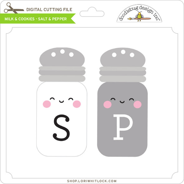 Milk & Cookies - Salt & Pepper