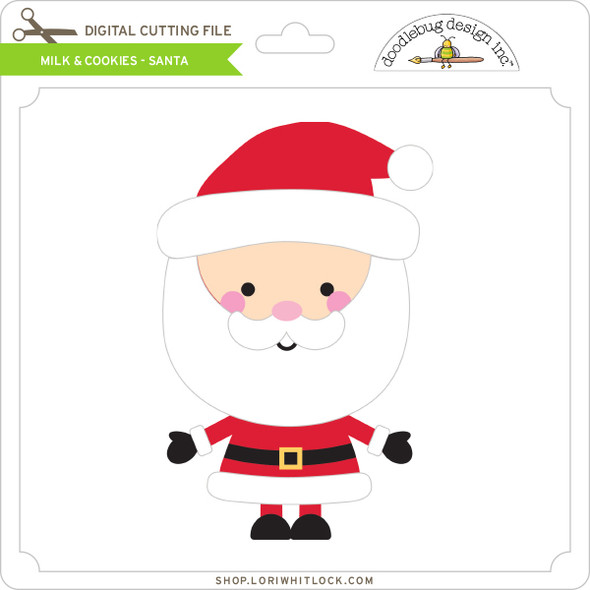Milk & Cookies - Santa