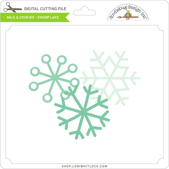 Milk & Cookies - Snowflake