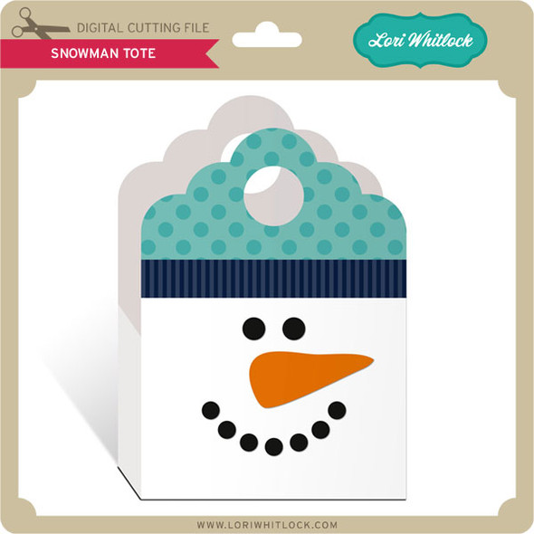 Snowman Tote