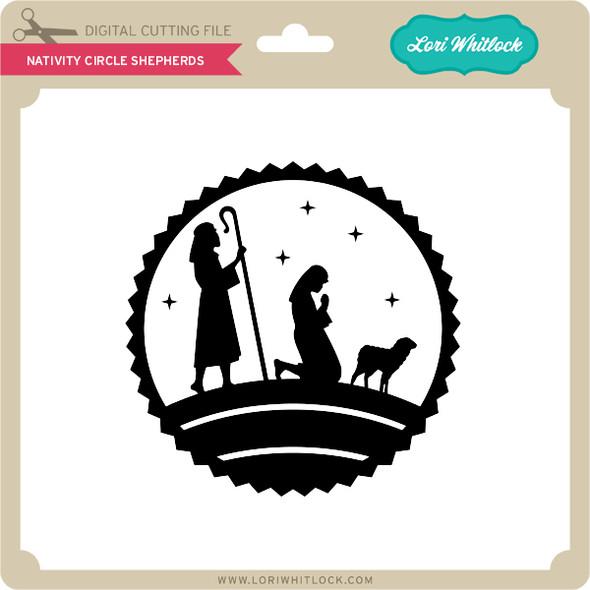 Nativity Circle Shepherds