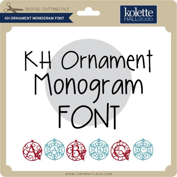 Ornament Monogram Font