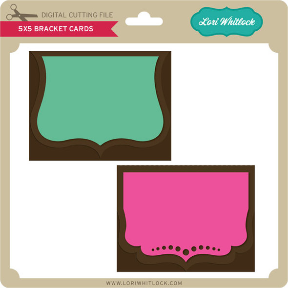 5x5 Bracket Cards