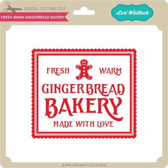 Fresh Warm Gingerbread Bakery