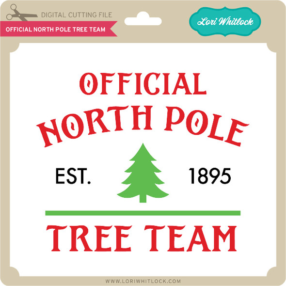 Official North Pole Tree Team