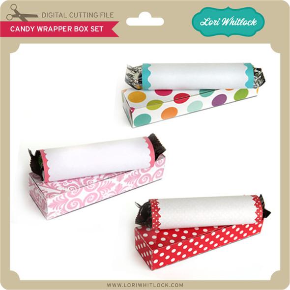Candy Bar Wrapper Box Set 1