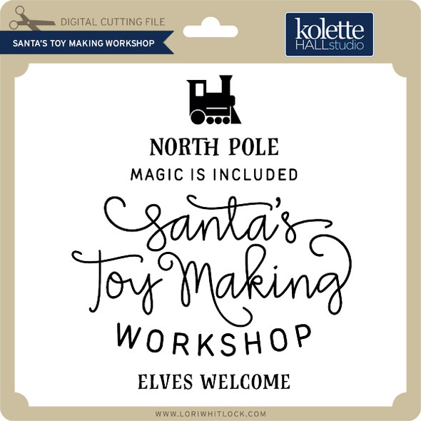Santa's Toy Making Workshop