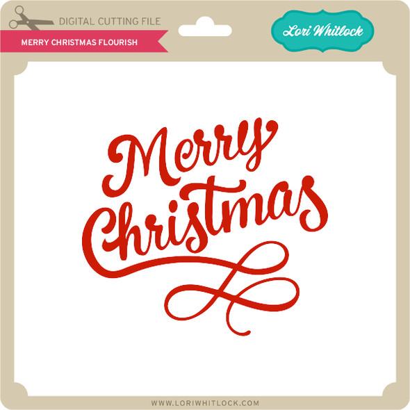 Merry Christmas Flourish