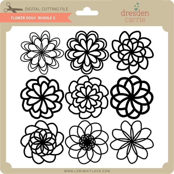 Flower Doily Bundle 2