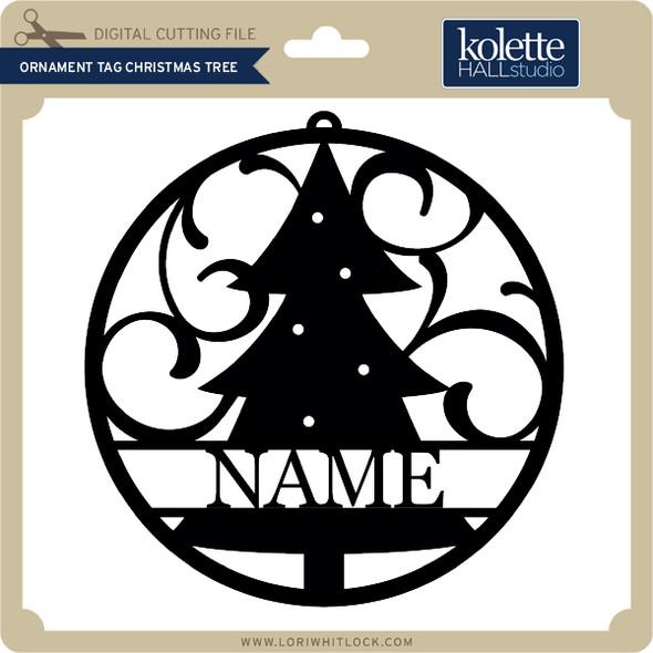 Ornament Tag Christmas Tree