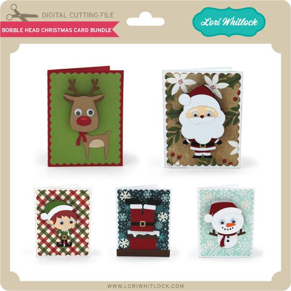 Bobble Head Christmas Card Bundle