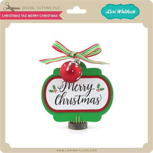 Christmas Tag Merry Christmas