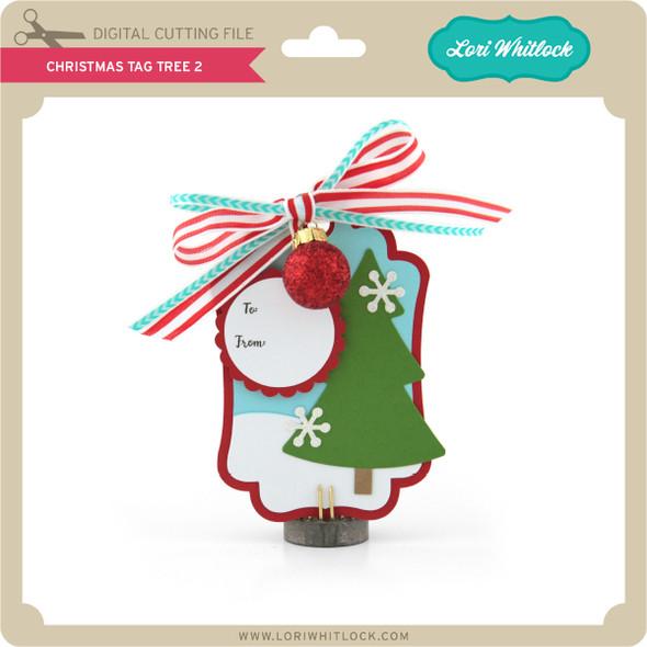 Christmas Tag Tree 2
