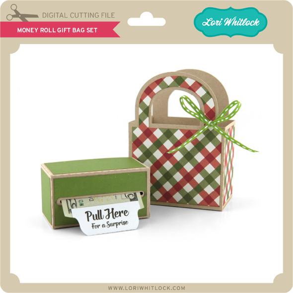 Money Roll Gift Bag Set