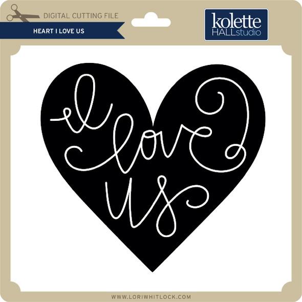 Heart I Love Us