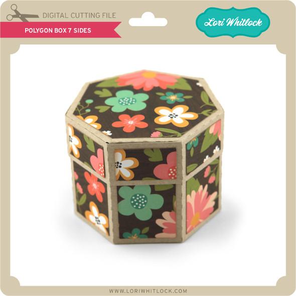 Polygon Box 7 Sides