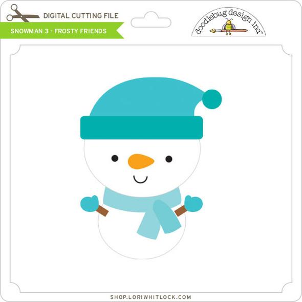 Snowman 3 - Frosty Friends