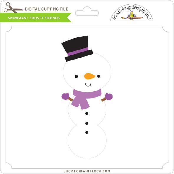 Snowman - Frosty Friends