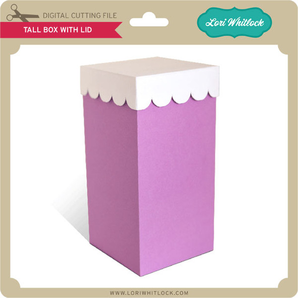 Tall Box with Lid