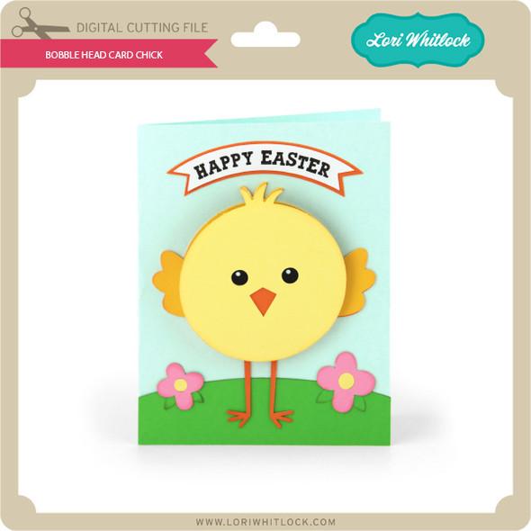 Bobble Head Card Chick