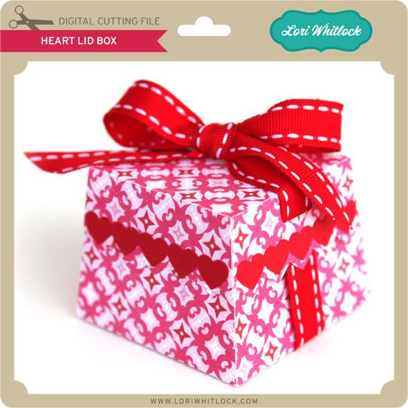 Heart Lid Box