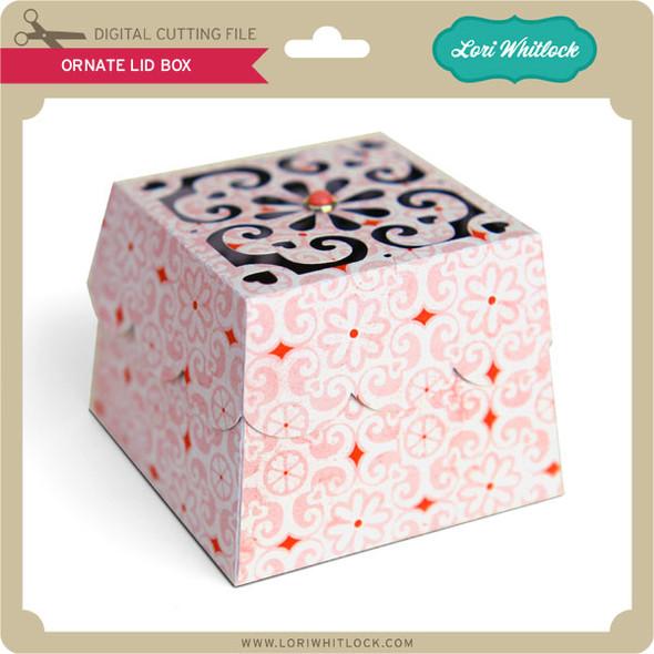 Ornate Lid Box