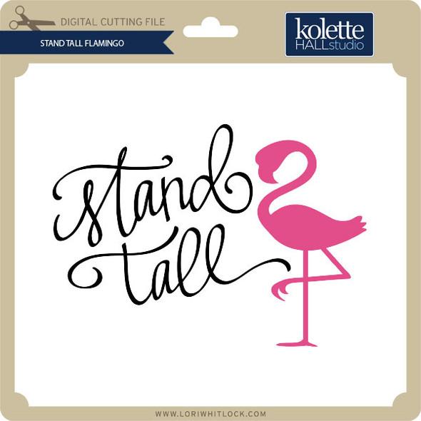 Stand Tall Flamingo